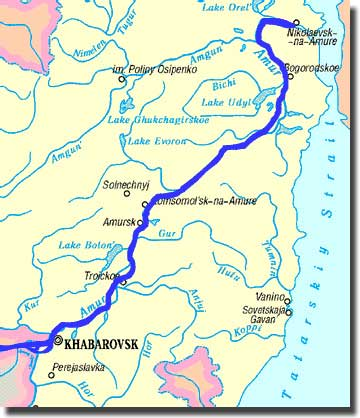 Ahoy Macs Web Log The Top Ten Rivers Of The World - Ob river on world map