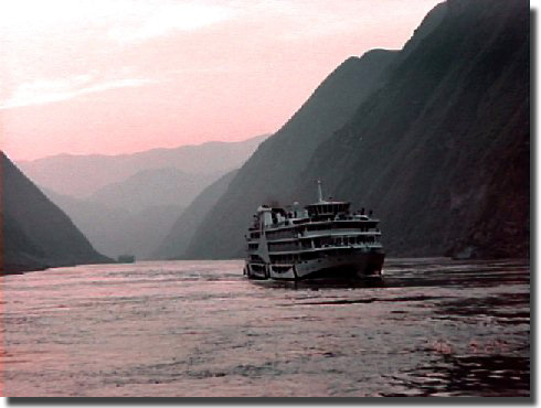 A view of the Yangtze River