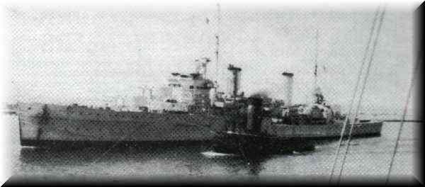 H.M.A.S. Sydney - At Fremantle in late 1941 - One of the last photographs of H.M.A.S Sydney